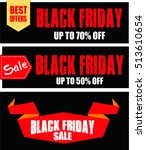 black friday sale design...   Shutterstock .eps vector #513610654
