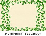 Green Clover Leaves. St.patric...