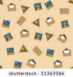 seamless vector texture with... | Shutterstock .eps vector #51363586