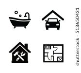facilities vector icons | Shutterstock .eps vector #513650431