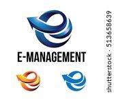 e   arrow business management... | Shutterstock .eps vector #513658639