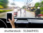 man use mobile phone and... | Shutterstock . vector #513669451