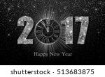happy new year 2017. background ... | Shutterstock .eps vector #513683875