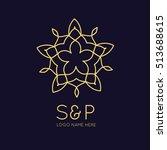 logo design template for... | Shutterstock .eps vector #513688615