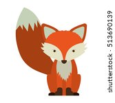cartoon fox icon | Shutterstock .eps vector #513690139
