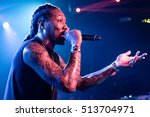 austin   march 16  2016  rapper ...   Shutterstock . vector #513704971