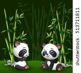 vector illustration of cartoon... | Shutterstock .eps vector #513711811