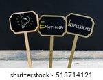 concept message emotional... | Shutterstock . vector #513714121