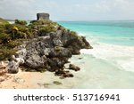 Ruins Of Tulum Along The...