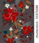 floral background   Shutterstock .eps vector #51373288