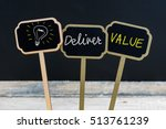 concept message deliver value... | Shutterstock . vector #513761239