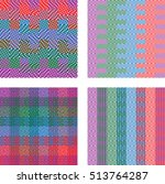 abstract geometric pattern with ... | Shutterstock .eps vector #513764287