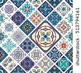 vector seamless texture.... | Shutterstock .eps vector #513794161
