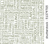 Marketing. Seamless background with words. Vector pattern.