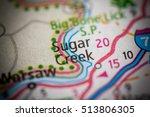 sugar creek. kentucky. usa   Shutterstock . vector #513806305