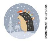 christmas card | Shutterstock .eps vector #513840805