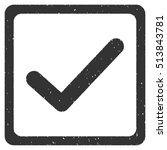 checkbox rubber seal stamp...
