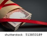 demonetized one thousand indian ... | Shutterstock . vector #513853189