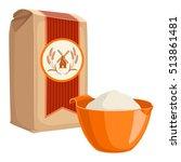 flour | Shutterstock .eps vector #513861481