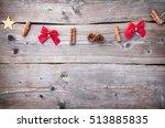 traditional christmas... | Shutterstock . vector #513885835