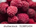 a bunch of frozen and delicious ... | Shutterstock . vector #513891454