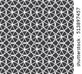 seamless geometric line pattern ... | Shutterstock .eps vector #513897457