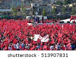 istanbul  may 30  recep tayyip... | Shutterstock . vector #513907831