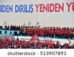 istanbul  may 30  recep tayyip... | Shutterstock . vector #513907891