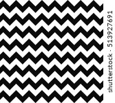 Black and white seamless chevron pattern background | Shutterstock vector #513927691