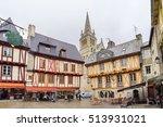 vannes  france   october 18 ... | Shutterstock . vector #513931021