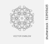 logo design template  creative...   Shutterstock .eps vector #513935635