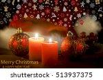 merry christmas card | Shutterstock . vector #513937375