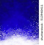 blue christmas background | Shutterstock . vector #513940411