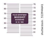 mugshot background template.... | Shutterstock .eps vector #513944641