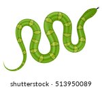 Green Snake Vector Illustratio...