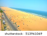 Marina Beach In Chennai City ...