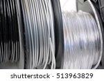 3d printing filament spool | Shutterstock . vector #513963829