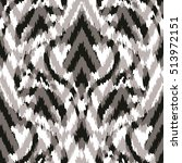 seamless abstract ikat pattern | Shutterstock .eps vector #513972151