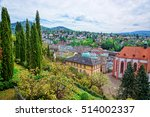 Panoramic View On Baden Baden...