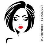illustration of woman short... | Shutterstock .eps vector #514007374