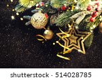christmas background  christmas ... | Shutterstock . vector #514028785