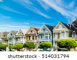 world famous painted ladies in... | Shutterstock . vector #514031794