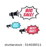 big sale  best deal   best buy... | Shutterstock .eps vector #514038511