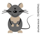 vector illustration of a mice
