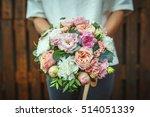 bouquet  wedding  bride ... | Shutterstock . vector #514051339