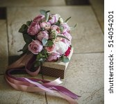 Small photo of flower, bouquet, love, day, valentine, marriage, background, hymeneal, rings, decoration, concept, holiday, object, celebration, creative, gold, couple, engagement, , nature, wooden, flowers