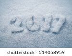 happy new year creative holiday ... | Shutterstock . vector #514058959