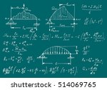 physical equations on school...   Shutterstock .eps vector #514069765