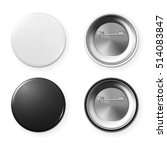 blank button badge. | Shutterstock .eps vector #514083847
