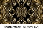 gold metal background | Shutterstock . vector #514091164